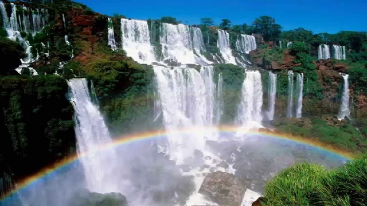 Las cataratas de iguazu maravillas del mundo youtube for Fondos de pantalla 7 maravillas del mundo