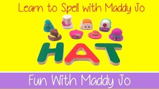 Learn To Spell SURPRISE EGGS HAT