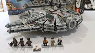 "Review Español - STAR WARS ""Halcon Milenario"" Set 75105 (LEGO MEXICO)"