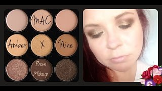 MAC Amber x 9 Eye Tutorial