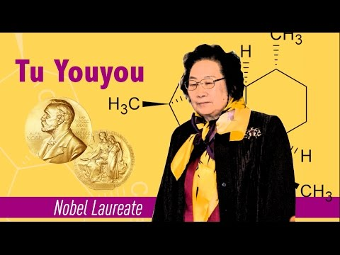 Who inspires you? Chemist Tu Youyou #HerVoiceIsMyVoice