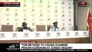 Police Minister Bheki Cele updates on Senzo Meyiwa murder case: 26 Oct 2020