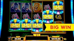 Tarzan Grand Slot - 5 SYMBOL TRIGGER - BIG WIN BONUS!