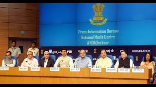 Shri Arun Jaitley press conference on the achievements of NDA government.