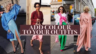 HOW TO ADD COĻOUR TO YOUR WARDROBE (for beginners) w LILYSILK & LALORAS | Mademoiselle [AD]