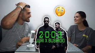 BUSHIDO DISST SHIRIN DAVID 🤯 | Juri X Bushido - 2003 REACTION | Crystal Mert & Billie Jean