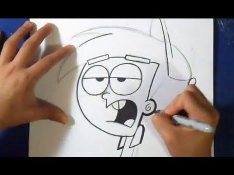Comment dessiner timmy mes parrains sont magiques youtube - Mes parrains sont magiques ...