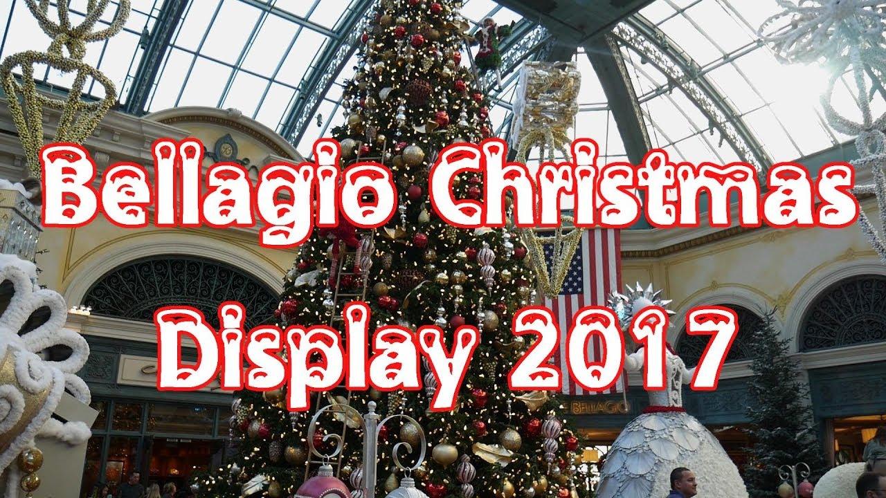 Bellagio Conservatory Christmas Display 2017 - YouTube