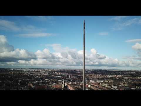 Dublin City Centre, The Spire and surrounding area
