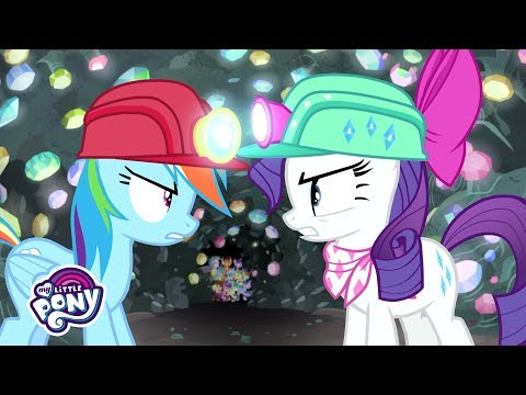 'Team Pony Gem Diggers' Official Clip | MLP: Friendship is Magic Season 8