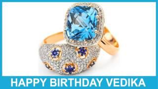 Vedika   Jewelry & Joyas - Happy Birthday