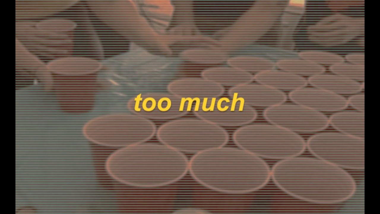 Riley Biederer - too much (Lyric Video)