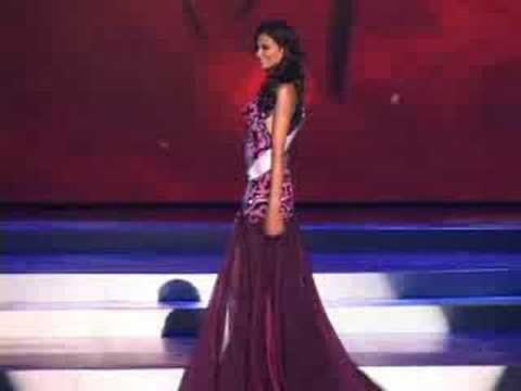 India - Miss Universe 2008 Presentation - Evening Gown - YouTube