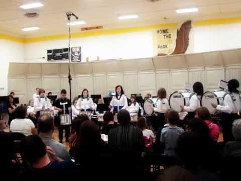 Orland Junior High School Drumline 2011