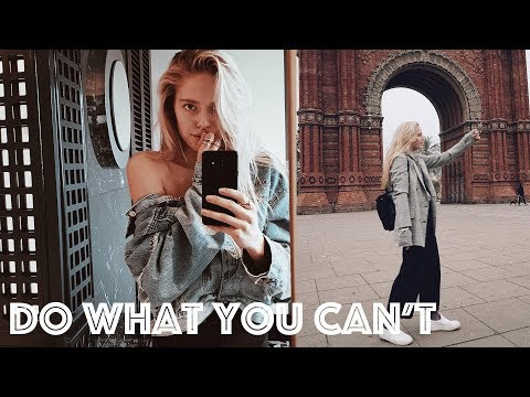 Do What You Can't (Barcelona vlog) | Cornelia