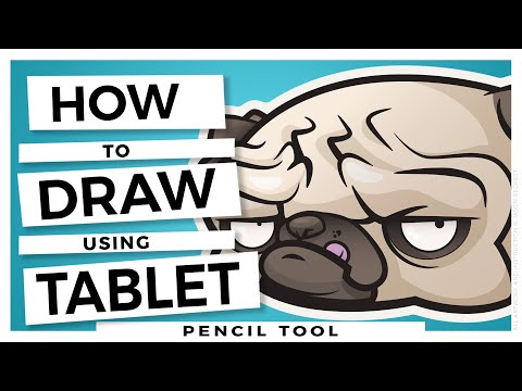 Adobe Illustrator CC Tutorial for Beginners: Drawing with Wacom Tablet