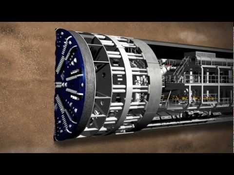 Thumbnail: Meet Crossrail's giant tunnelling machines