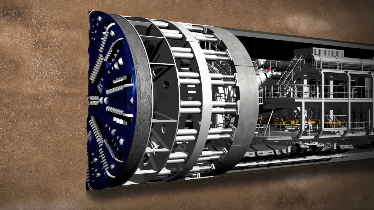 meet crossrails giant tunnelling machines youtube