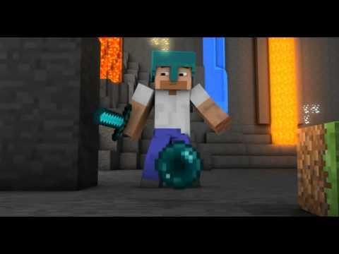 Песня про алмазный меч в Minecraft
