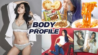 [Serim's life] Body profile shooting VLOG after losing 7 kg body fat