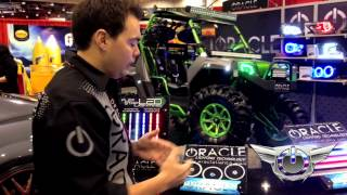 We introduce the Plasma halos at SEMA Show 2012 and also explain th...