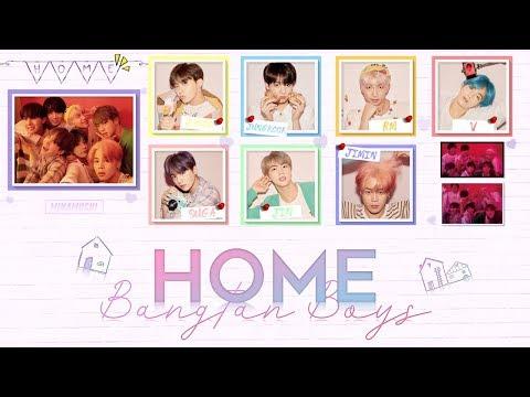 BTS (방탄소년단) - 'HOME' Lyrics [Color Coded Han_Rom_Eng]
