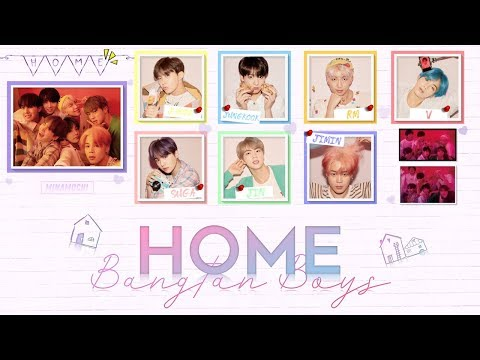 BTS (방탄소년단) - 'HOME' Lyrics [Color Coded Han_Rom_Eng] | minamochi