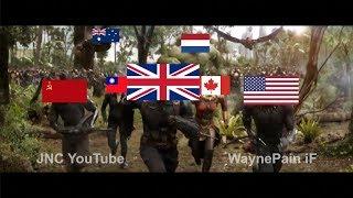 Infinity War but it's World War II