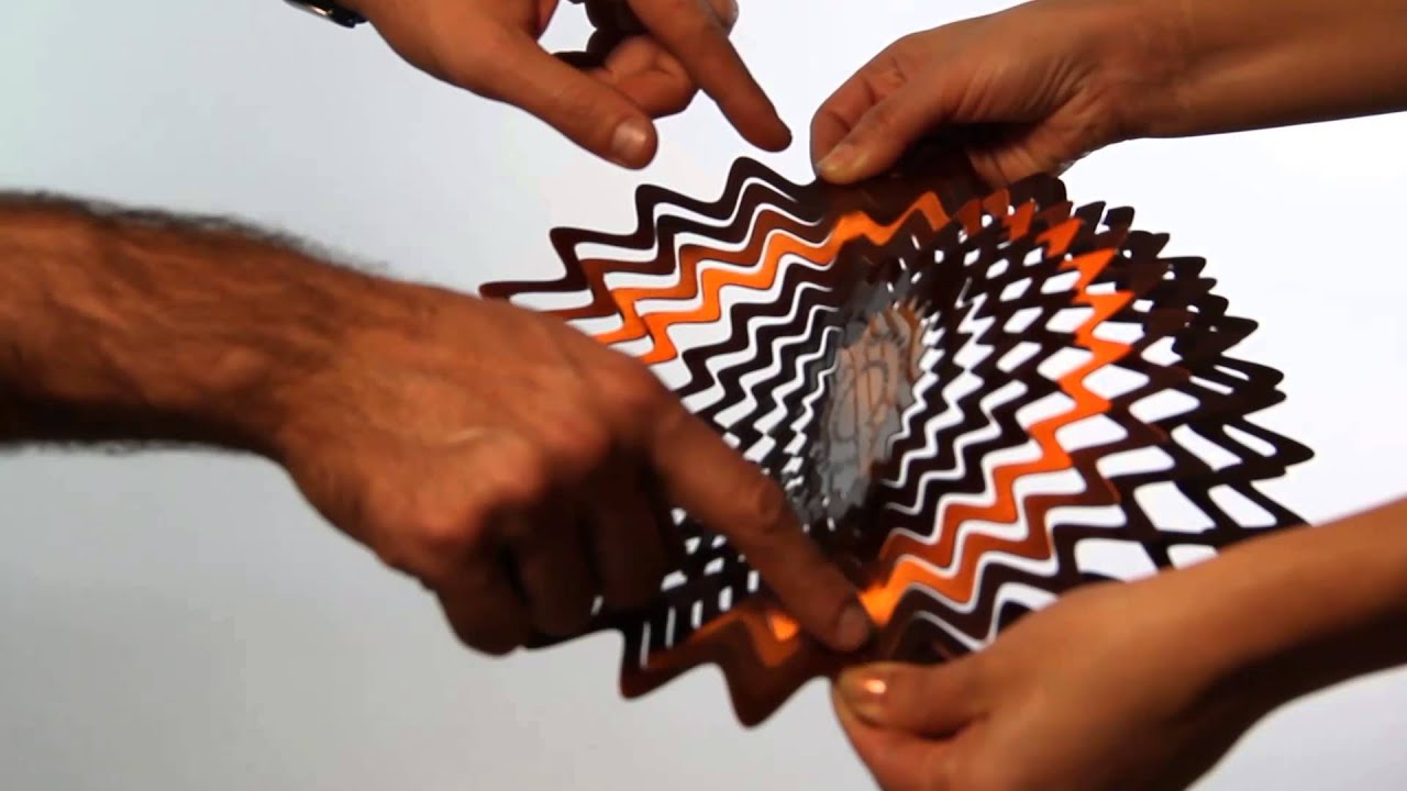 How to unfold the wind spinner - YouTube