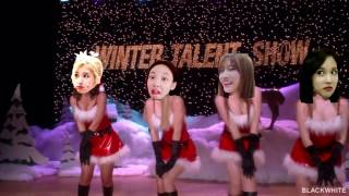 TWICE: Mean girls Jingle Bell Rock ( Crack )