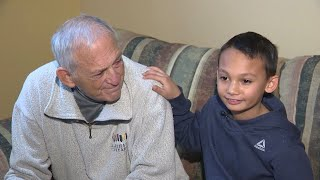 Boy helps save grandfather during life-threatening medical emergency