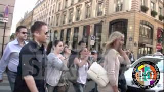 Sexy Cameron Diaz shopping in Paris
