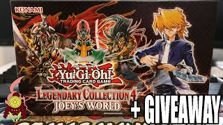 YUGIOH! LEGENDARY COLLECTION 4: JOEYs WORLD OPENING! THE HYPE!! + GIVEAWAY 2017!