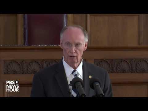 Watch Alabama Gov. Robert J. Bentley's resignation statement