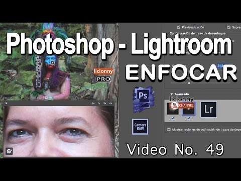 Tutorial Enfocar.Photoshop Y Lightroom # 49. ¿Cómo Aplicar Estabilizador De Imagen?. Liclonny