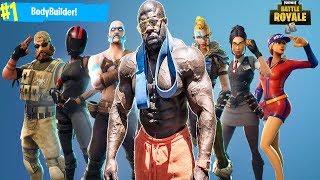Fortnite Battle Royale |  #1 BODYBUILDER PLAYER | PS4 PRO
