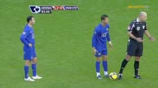 vuclip Cristiano Ronaldo vs Arsenal Away 08-09 HD 720p by Hristow