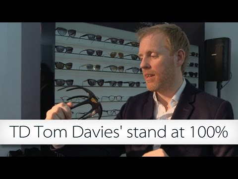 TD Tom Davies' stand at 100% Optical