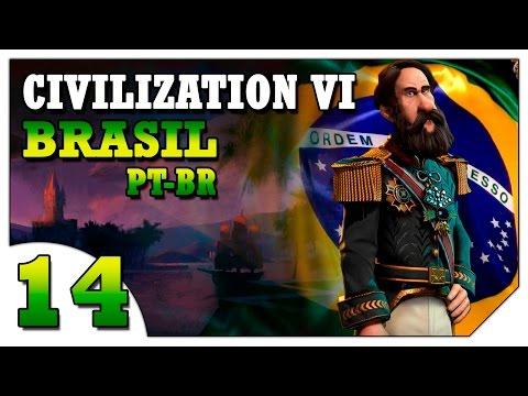 Civilization 6 Brasil #14 (VAMOS JOGAR) Império Brasileiro Avante! [Gameplay Português PT-BR]