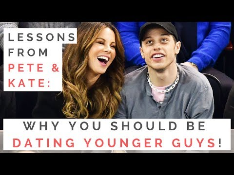 AGE GAPS: Why You Should Be Dating Younger Guys — Lessons From Kate Beckinsale & Pete Davidson!