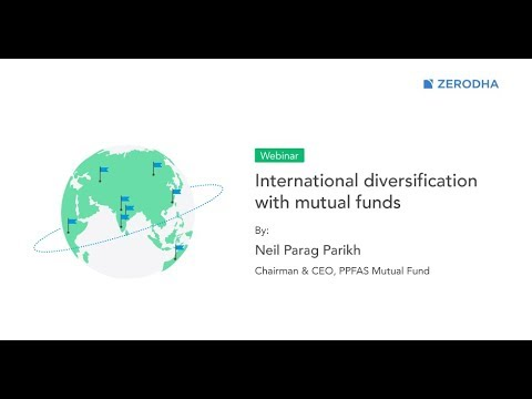 International diversification with mutual funds