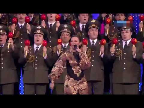 Ejército Ruso cantando una canción mexicana