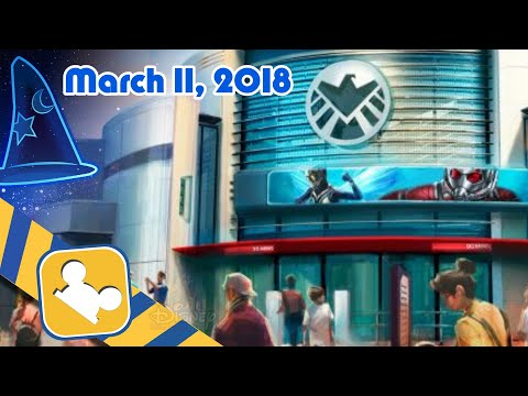 Construction Update: MARVEL Themed Attraction | Hong Kong Disneyland (March 11, 2018)