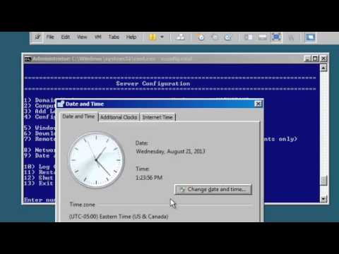 CANIPS IT Videos Windows Server 2008 R2 SERVER CORE Theory and Labs