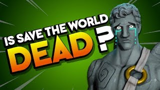 IS THIS THE END? Fortnite Save the World Ending Update E3 2018