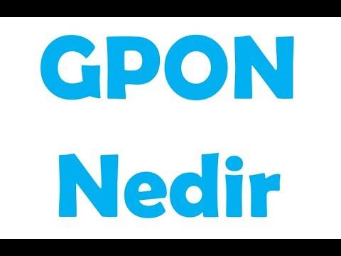 GPON Nedir - GPON Yeni Bir Network Altyapı Anlayışı