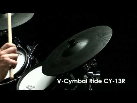 CY-12C/13R V-Cymbals Expressiveness