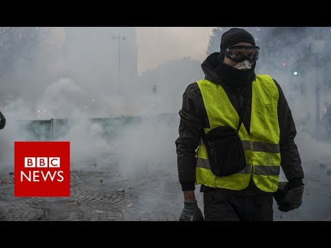 France fuel protests: Who are the people in the yellow vests?  - BBC News