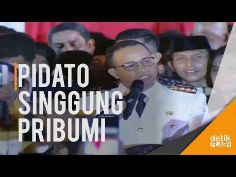 Image of Viral!! Pidato Gubernur DKI Anies Baswedan Singgung Soal Pribumi