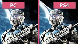 PlanetSide 2 – PC vs. PS4 Graphics Comparison [60fps][FullHD]